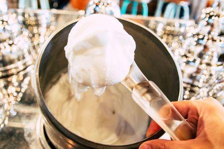 Helado orgánico de yogurt de Puro&Bio