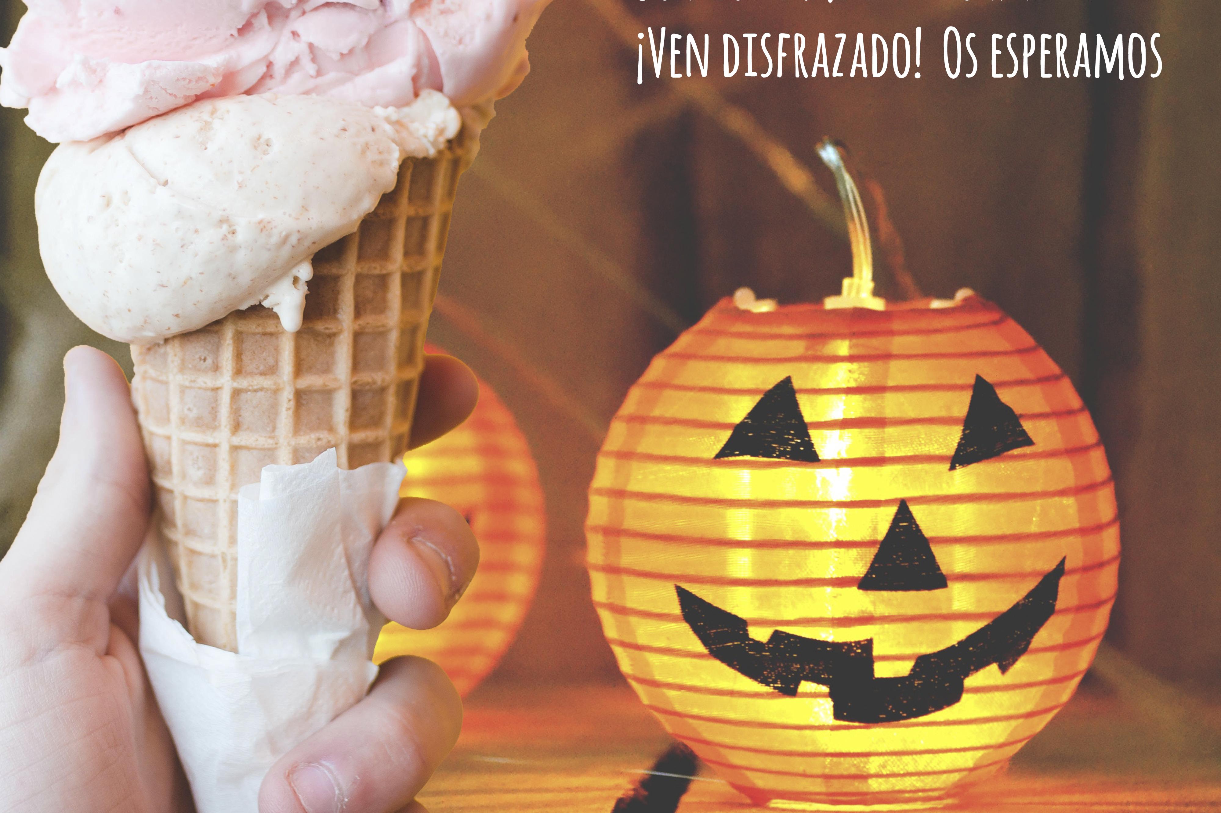 Ven A La Fiesta De Inauguración Halloween De Nuestra Nueva Heladería En Sevilla El Blog De Puro Bio